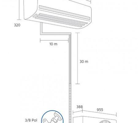 Ar Condicionado Elgin Eco Plus Split 30000 Btus Frio 220v